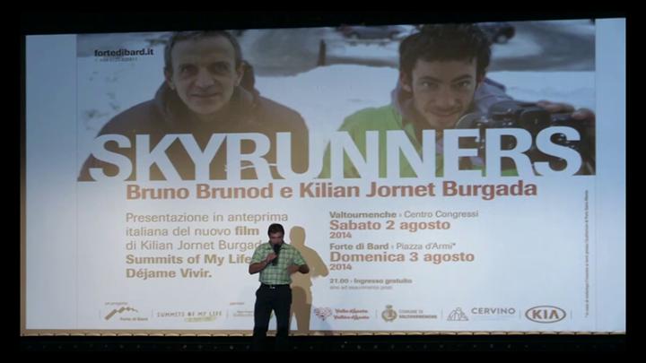 Serata SkyRunner Bruno Brunod e Kilian Jornet
