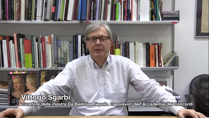 """Vittorio Sgarbi presenta """"Da Bellini a Tiepolo"""""""