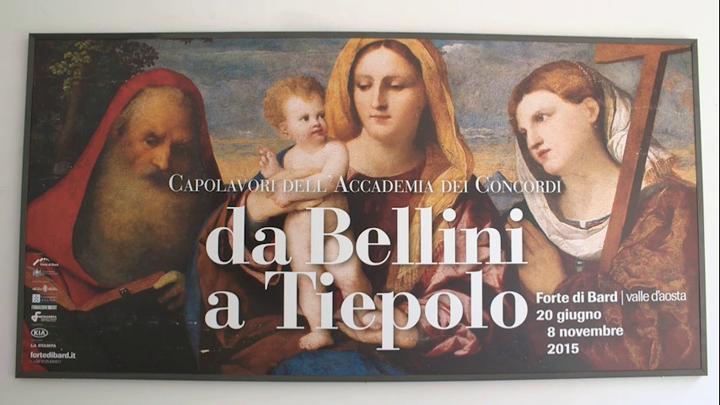 Mosta da Bellini a Tiepolo
