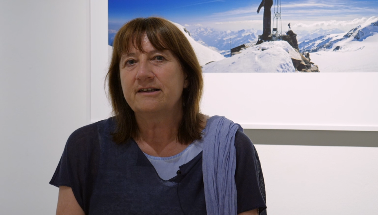 Il progetto L'Adieu des Glaciers: Ornella Badery, presidente del Forte di Bard
